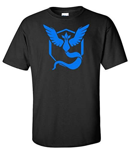 Pokemon Go Team Mystic Black Shirt (Large)