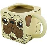 Spinning Hat Pug Tea and Coffee Mug