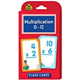 Multiplication 0-12 Flash Cards by School Zone Publishing Company Staff
