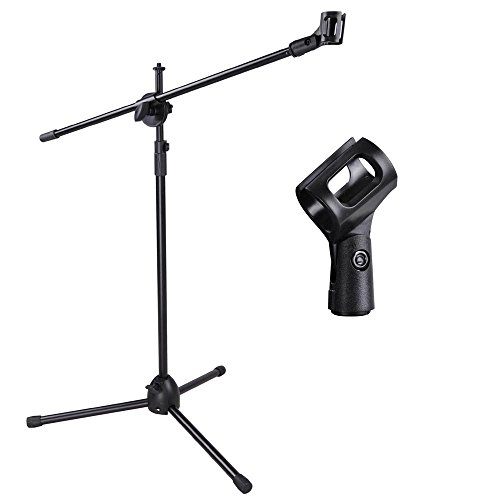 top 5 best microphone stand with boom for sale 2016 product boomsbeat. Black Bedroom Furniture Sets. Home Design Ideas