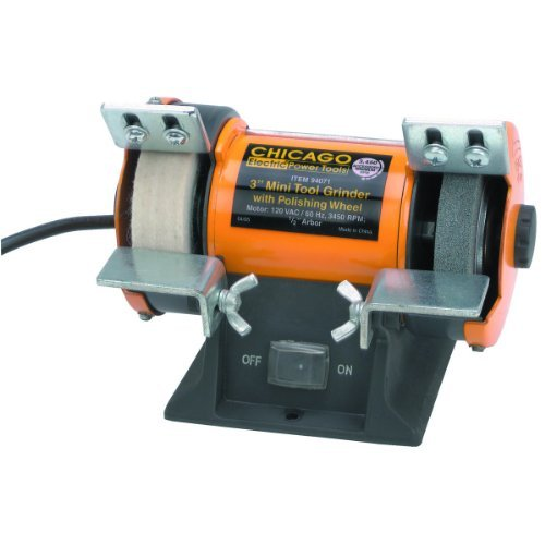 3 inch Mini Tool Grinder Polisher 1/14 HP (Mini Bench Grinder Polisher compare prices)
