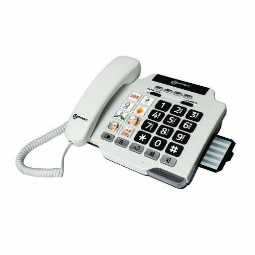 Geemarc PHOTOPHONE 100 Loud Big Button Photo ID Corded Telephone- UK Version picture