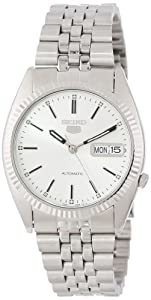 "Seiko Men's SNXJ89 ""Seiko 5"" Stainless Steel Automatic  Watch"