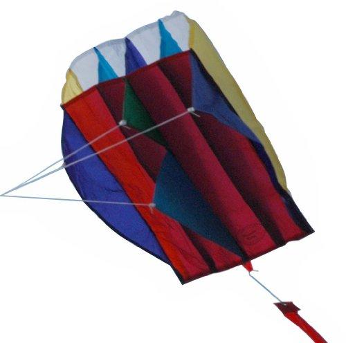 Premier 17201 Pocket Parafoil Kite, Rainbow