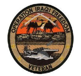 Operation Iraqi Freedom Veteran Small Patch