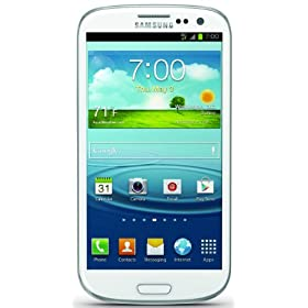 Samsung Galaxy S III 4G Android Phone, White 16GB (Sprint) $39.99