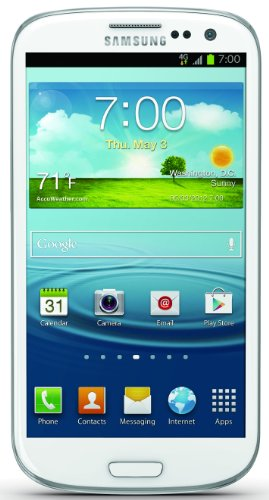 Samsung Galaxy S III 4G Android Phone, White
