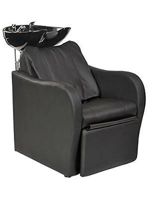 Lexus Backwash Unit With Shiatsu Massage - Black