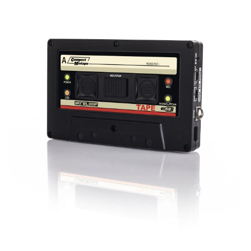 Buy Bargain Reloop USB Mixtape Recorder with Retro Cassette Look, Black (TAPE)