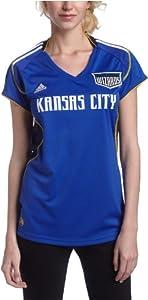 MLS Kansas City Wizards Ladies Home Replica Jersey by adidas