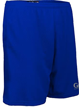 Buy AP6477 Unisex Solid Color 7 Short-1.5 Covered Elastic Waist with Draw String by Game Gear