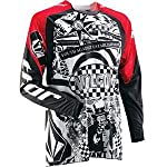 Thor Motocross Core Volcom Jersey - 2012 - Small/Red/White/Black
