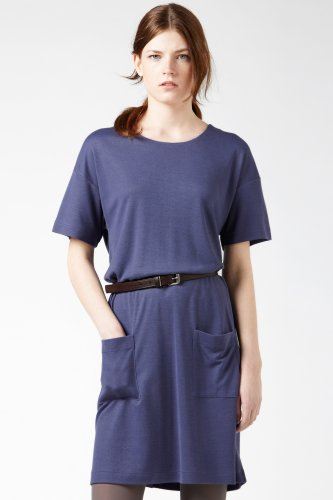 Short Sleeve Heavy Jersey T-shirt Dress