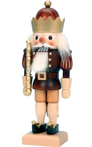 Christian Ulbricht Nutcracker – King – 10.5″H X 4″W X 3″D