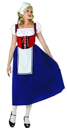 Up Dress, Cap. Petticoat Not Included: Adult Sized Costumes: Clothing