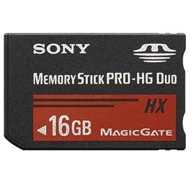 SONY �������[�X�e�B�b�N PRO-HG �f���I HX 16GB USB�A�_�v�^�t MS-HX16G