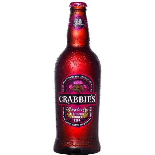 Crabbies Raspberry Alcoholic Ginger Beer (8 x 500ml)