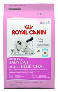 Royal Canin Mother and Babycat Cat Food, 3.5-Pound
