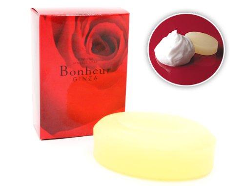 銀座ボヌールシナジーソープ 刺激成分を最低限に抑えた洗顔ソープ3個セットで・・・