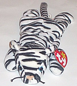 TY Beanie Baby - BLIZZARD the White Tiger