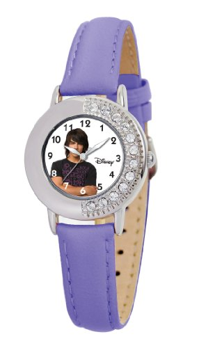 Disney Kids' D656S413 Joe Jonas Purple Leather
