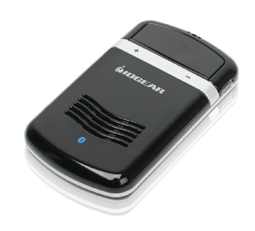 Iogear Solar Bluetooth Hands-Free Car Kit Gbhfk231 (Black)
