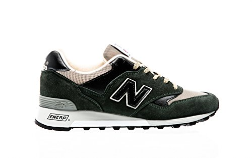NEW BALANCE scarpa uomo mod M577 colore DGK MADE IN ENGLAND suede e mesh (8 UK - 8 1/2 USA - 42 EUR)