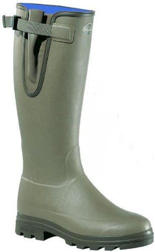 Le Chameau Vierzonord Neoprene Lined Boots (40H (calf 41cm))