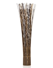 Mixed Rattan Twig Floor Lamp