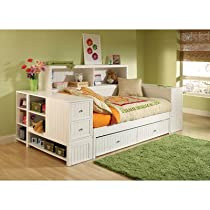 Hot Sale Cody Bookcase Daybed with Trundle