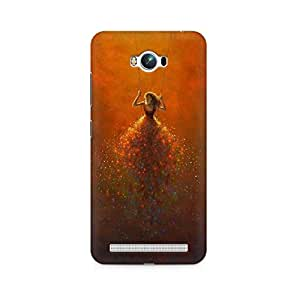 Mobicture Girl Abstract Premium Designer Mobile Back Case Cover For Asus Zenfone Max