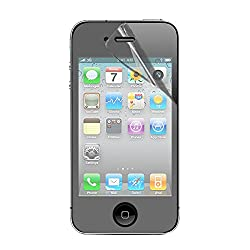 Stuffcool Clear Screen Protector Screenguard for Apple iPhone 4 / 4S (CCIP4S)