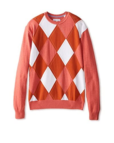 Alex Cannon Men's Argyle Crew Neck Sweater