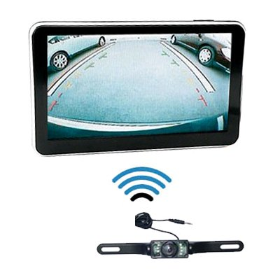 "5"" GPS USA Navigator Car Navigation System + Wireless Reverse Camera"
