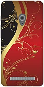 The Racoon Lean Red Haze hard plastic printed back case / cover for Asus Zenfone 5 A500CG/A501CG
