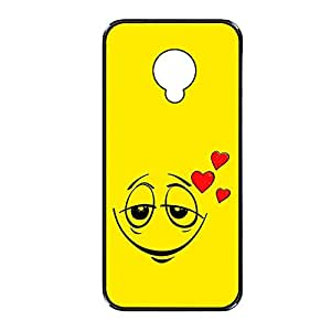 Vibhar printed case back cover for Samsung Galaxy S4 LoveEmoticon