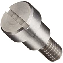 303 Stainless Steel Shoulder Screw, Slotted Drive