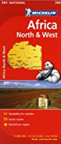 Michelin Africa North & West Map 741 (Maps/Country (Michelin))