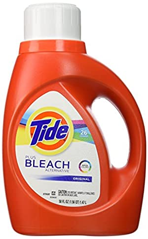 Tide plus bleach alternative Original Scent Liquid Laundry Detergent 26