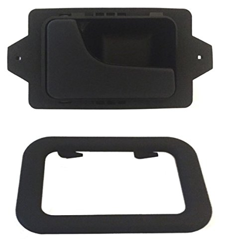 DELPA CL4721 - Left LH Inside Interior Inner Door Handle + Bezel Black Fits: BMW 3 5 6 7 Series E12 E23 E24 E28 E30 E32 E34 E36 E38 E39 E46 E60 E61 E63 E64 E65 E66 F01 F02 (Bmw E36 Door Handle compare prices)
