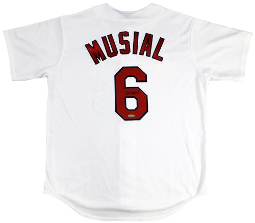 Stan Musial Signed Autographed St. Louis Cardinals Replica Jersey TRISTAR COA at Amazon.com