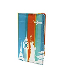 Shopaholic Passport Holder Case Cover (Designs & Color Will Be Provided As Per Availability)