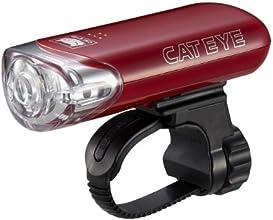 キャットアイ(CAT EYE) ヘッドライト [HL-EL140] レッド JIS前照灯規格適合品