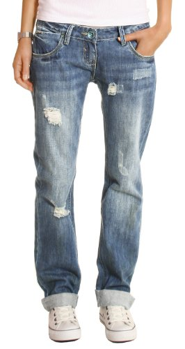 damenbekleidung damen jeans boyfriend damenjeans loose fit baggyjeans h ftjeans. Black Bedroom Furniture Sets. Home Design Ideas
