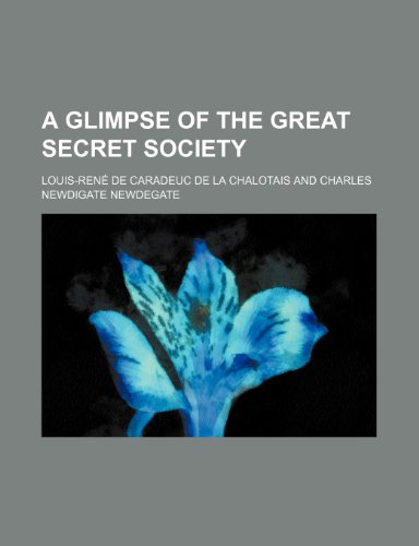 A glimpse of the great secret society