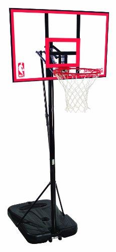 Spalding NBA Portable Basketball System - 44 Polycarbonate Backboard