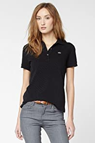 Short Sleeve Non-stretch Pique Polo