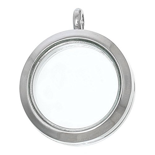 souarts-silver-color-round-hollow-living-memory-charms-can-open-floating-charms-pendant