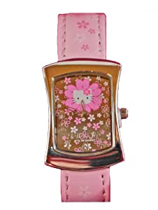 Hello Kitty Quartz Watch w/ Pink Band with Analog Display