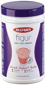 Multaben Figur Eiweiß Diät Kirsch-Joghurt, 1er Pack (1 x 430 g)